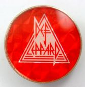 Def Leppard - 'Logo' Prismatic Crystal Badge